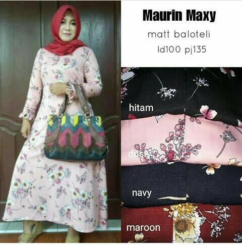 Gamis Maurin Maxy