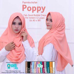 poppy jilbab